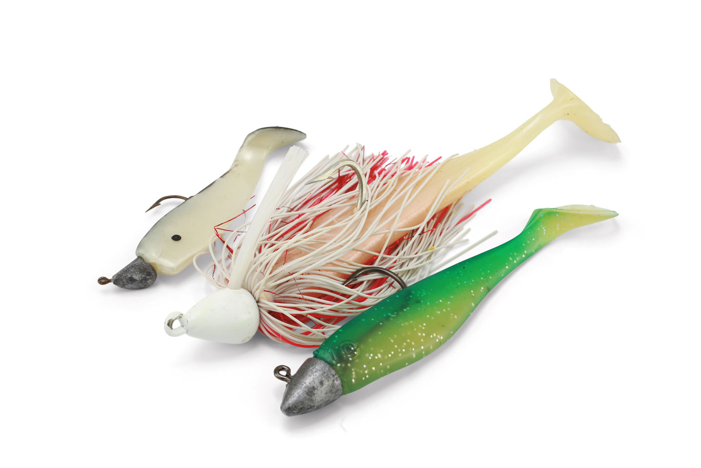 Paddletail Swimbaits for Walleye