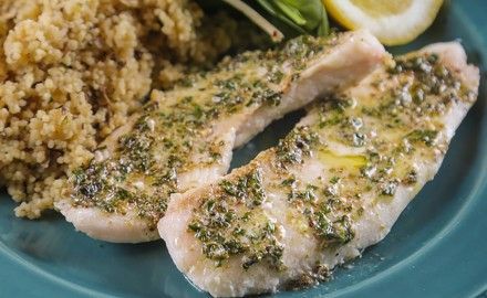 Crappie with French Herb Butter Recipe