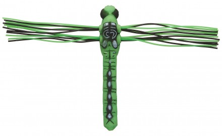 Lunkerhunt of Toronto, Ontario, describes its Dragonfly as a finesse topwater lure. It is three
