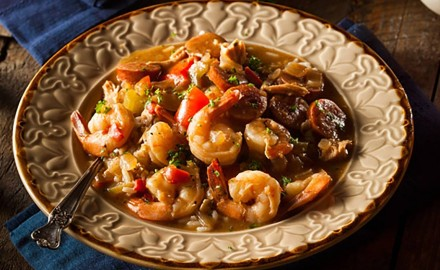 This Seafood and Sausage Gumbo Recipe is made with Frontier Co-op's Cajun Seasoning Blend and brings the taste of New Orleans under the roof of your own home.