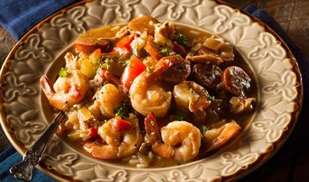 Seafood and Sausage Gumbo Recipe