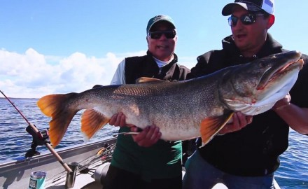 The In-Fisherman Crew pulls in some of the biggest lake trout ever captured on In-Fisherman TV.