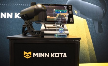 Minn Kota,'has earned top honors at the fishing industry's most prestigious trade show, the