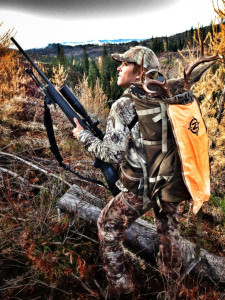 The Tenzing CF13 was the perfect pack for quartering and packing out the whitetail off the mountain.