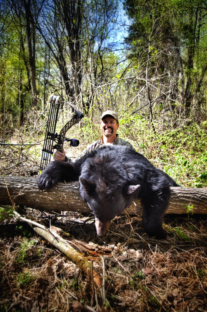 Jim Kinsey and his Saskatchewan Inland Delta Black Bear.