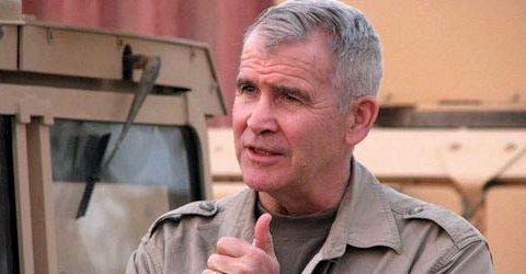 Oliver North Saving Private K9