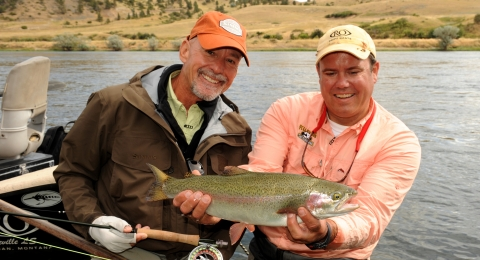 the gypsy angler with ray van horn