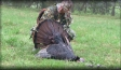 Josh Webster's first turkey.