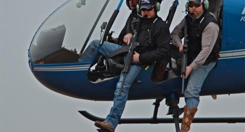 Heli-Hunter - airborne
