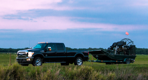 the ford outfitters - fordsuperduty_airboat
