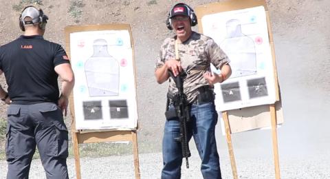 off-grid hunter - target practice