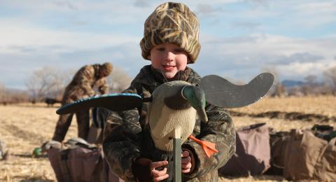 the birdmen - young hunter