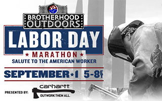 Brotherhood Outdoors Labor Day Marathon