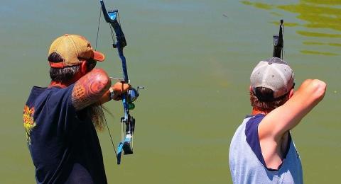the habit bowfishing