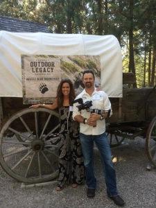 Jana and Jim gear up for the Montana Outdoor Legacy Foundation event at Jack and Suzi Hanna's ranch in Montana
