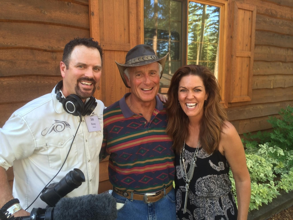 Jungle Jack Hanna with Jana and Camerman Jimmy