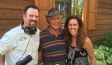 Jungle Jack Hanna with Jana and Camerman Jimmy