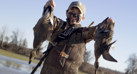 Gadwalls and smiles