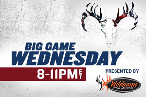 Go Big or Go Home on Sportsman Channel's Big Game Wednesday