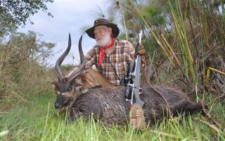 Weishuhn on Hunting Uganda Sitatunga
