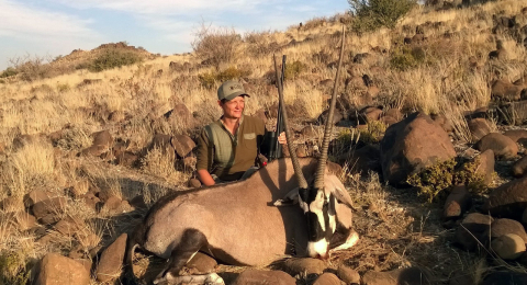 Golden Oryx The Boddington Experience