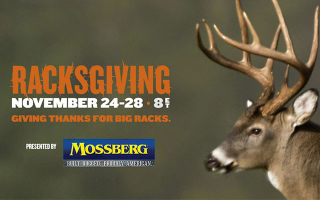 Sportsman Channel is Giving Thanks (and Racks) on Racksgiving presented by Mossberg Firearms