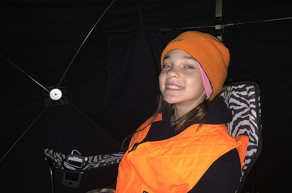 Kids hunting from ground blinds