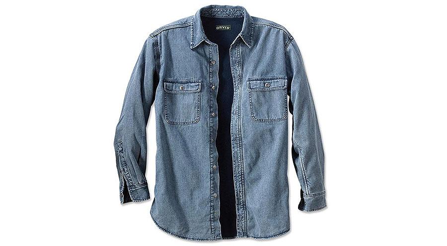 Orvis Famous Lined Teton Shirt