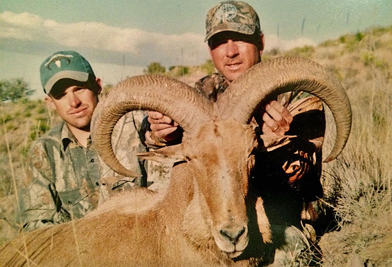 Aoudad Sheep Hunting Doug Rodgers
