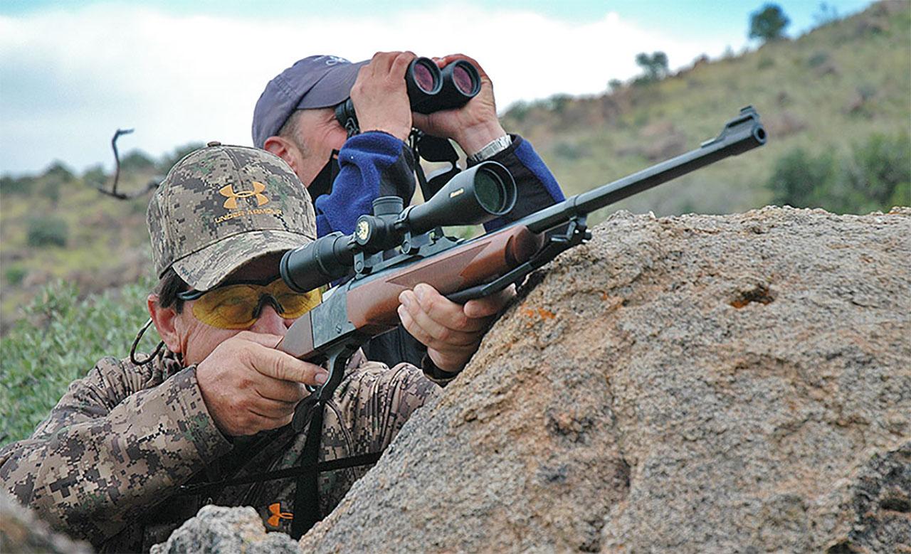 Aoudad Sheep Rifle Hunting Tips