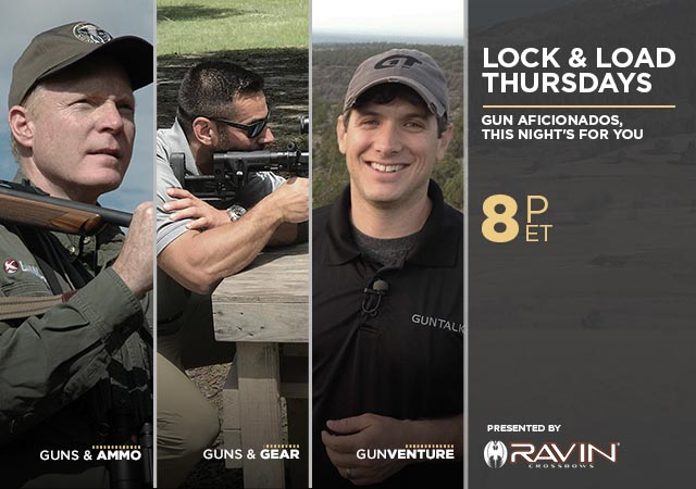 Lock & Load Thursdays Presented by Ravin Crossbows