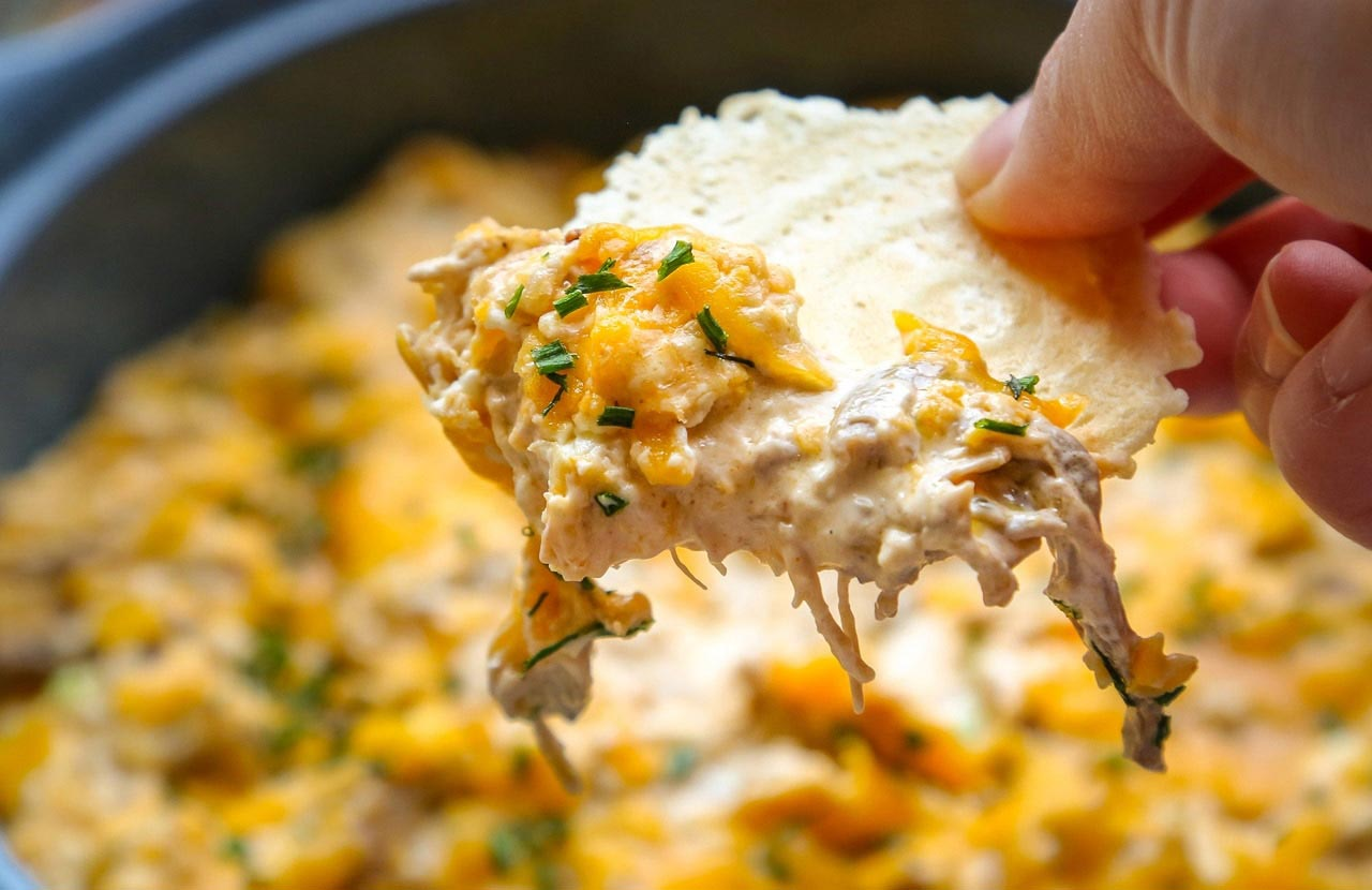 Next time you entertain for a family-and-friends gathering at home, give this buffalo pheasant cheese dip recipe a try; your guests won't be disappointed. (Jenny Nguyen photo)