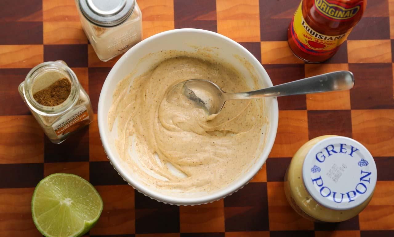 Bluegill Fish Sandwich Po'boy Recipe Step 1