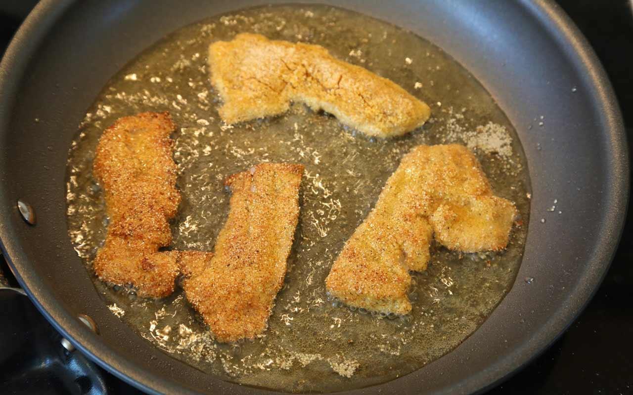 Bluegill Fish Sandwich Po'boy Recipe Step 3