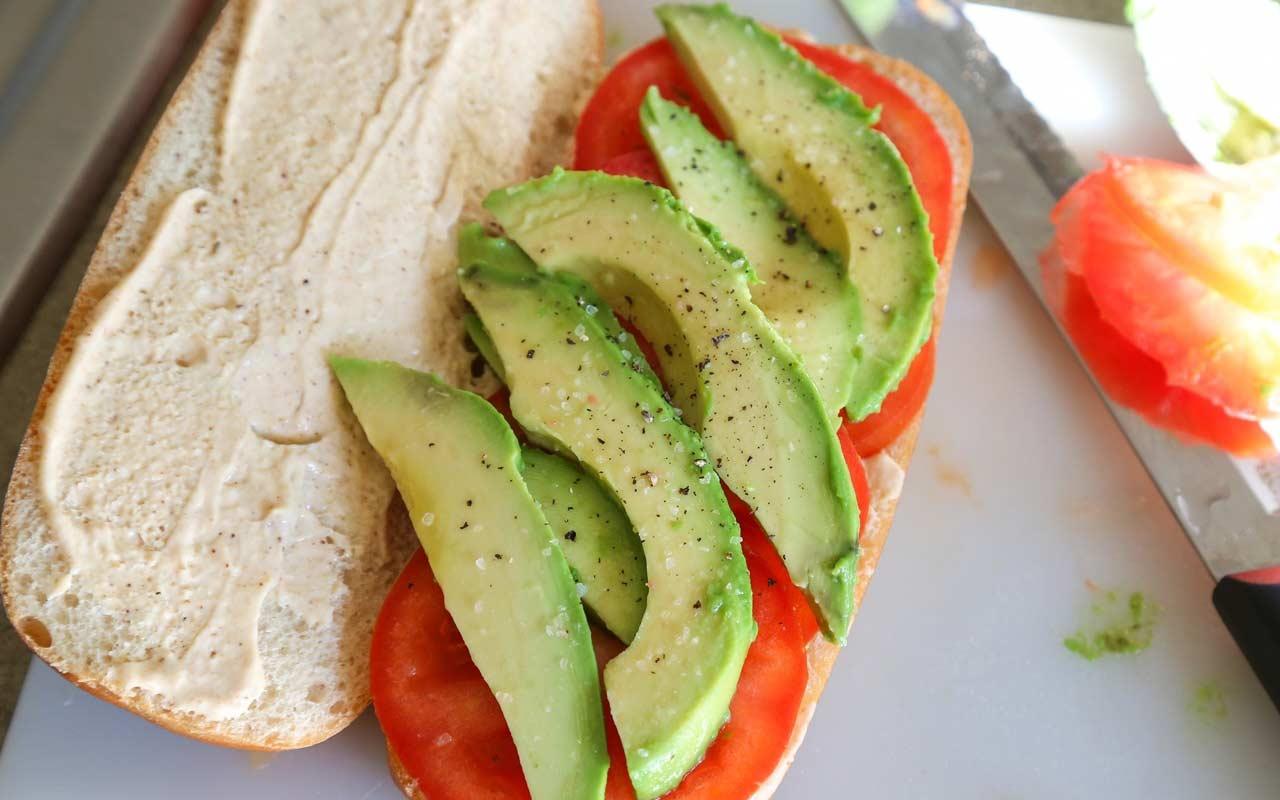 Bluegill Fish Sandwich Po'Boy Recipe Step 4