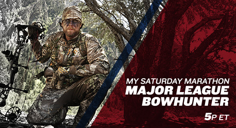 My saturday marathon major league bowhunter sportsman for Major league fishing full episodes