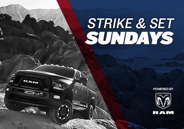 Strike & Set Sundays powered by RAM