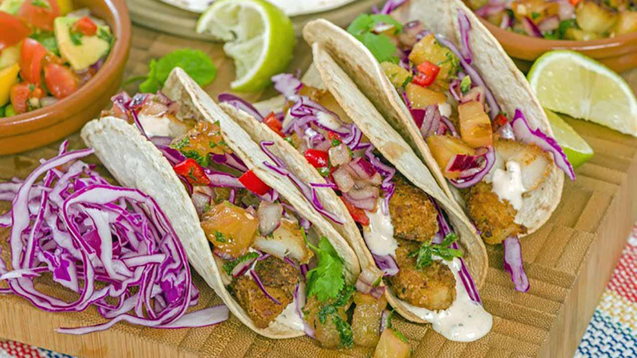 The Sporting Chef Walleye Tacos