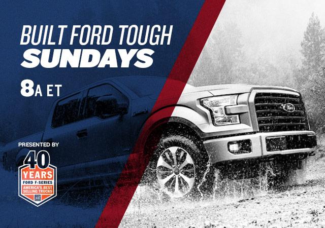 Built Ford Tough Sundays
