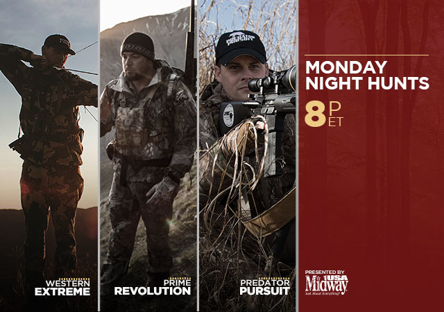 Monday Night Hunts Presented by MidwayUSA