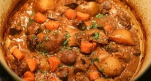 Venison and Wild Mushroom Stew Recipe