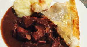 Savory Venison Pie Recipe