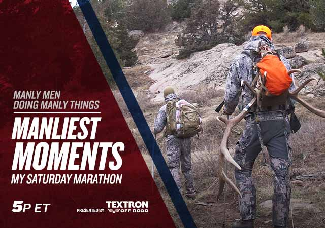 My Saturday Marathon Manliest Moments Presented by Textron
