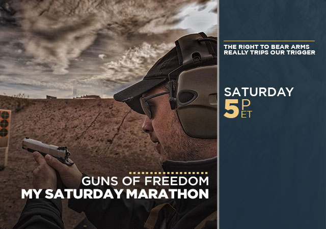My Saturday Marathon Guns of Freedom