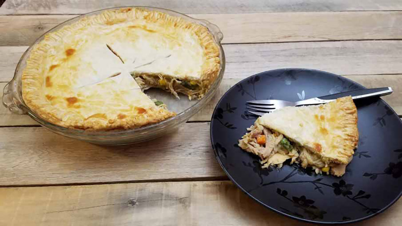 Easy Wild Turkey Pot Pie Recipe