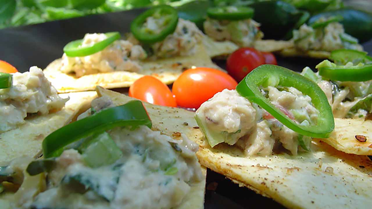 "Dollop this delicious Jalapeño Fish Spread Recipe on tortilla chips or sourdough toast and serve as an appetizer. (Photo courtesy of ""The Sporting Chef"")"