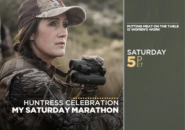 My Saturday Marathon Huntress Celebration
