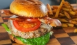 Smoky Wild Turkey Club Burger Recipe