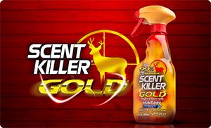 scent killer gold logo