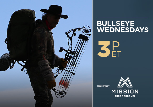 Bullseye Wednesdays Presented by Mission Crossbows